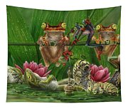 Toasted Frogs Tapestry