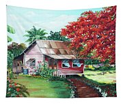 Tobago Country House Tapestry