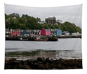 Tobermory Town Cityscape, Isle Of Mull Tapestry