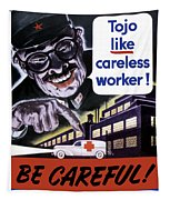 Tojo Like Careless Workers - Ww2 Tapestry