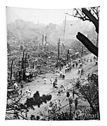 Tokyo Earthquake, 1923 Tapestry
