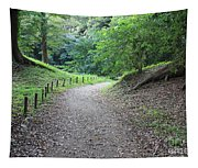 Tokyo Park Path Tapestry