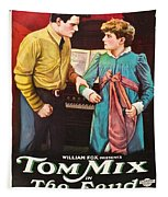 Tom Mix In The Feud 1919 Tapestry