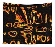 Tomatillo Abstract Tapestry
