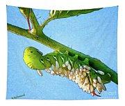 Tomato Hornworm Tapestry