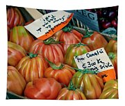 Tomatoes At Market Tapestry