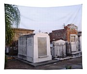 Tombs In St. Louis Cemetery Tapestry