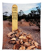 Tombstone Boot Hill Tapestry