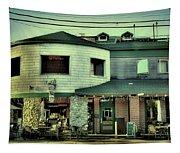 Tony Harpers - Vintage Postcard Tapestry