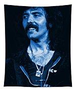 Blue Fluff Tapestry