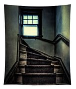 Top Of The Stairs Tapestry