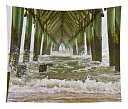 Topsail Island Pier Tapestry