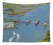 Topsail Island Top Of The Hour Tapestry