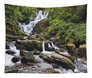 Torc Waterfall In Killarney National Tapestry