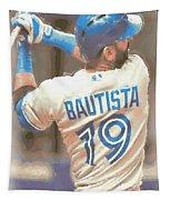 Toronto Blue Jays Jose Bautista 2 Tapestry