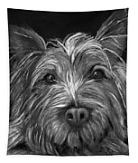 Tosha The Highland Terrier Tapestry