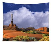 Totem Pole Monument Valley Tapestry