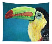 Toucan Portrait Tapestry