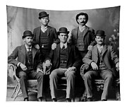 Tough Men Of The Old West 2 Tapestry