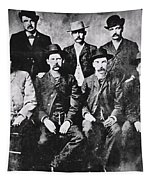 Tough Men Of The Old West Tapestry