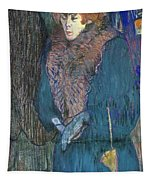Toulouse-lautrec: J.avril Tapestry