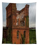 Tower Of Ruins Tapestry