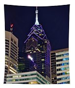 Towering Over Philly Tapestry