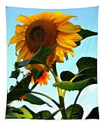 Towering Sunflower Tapestry