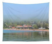 Town Of Grand Marais Tapestry