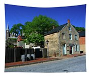 Town Of Harpers Ferry Tapestry