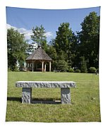 Town Park In Bartlett New Hampshire Usa Tapestry