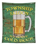 Township Saloon Tapestry