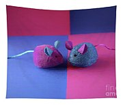 Toy Mice Tapestry