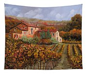 tra le vigne a Montalcino Tapestry