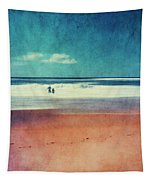Traces In The Sand Tapestry