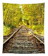 Track To Nowhere Tapestry