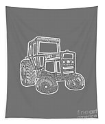 Tractor Transparent Tapestry