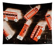 Traditional English Travel Tapestry