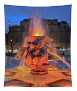 Trafalgar Square Fountain Tapestry