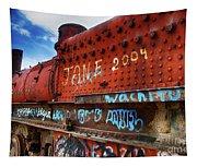 Train Graveyard Uyuni Bolivia 17 Tapestry