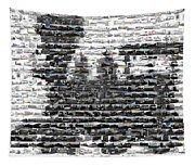 Train Mosaic Tapestry