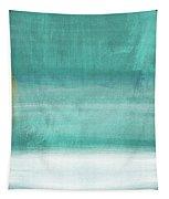 Tranquil Horizon- Art By Linda Woods Tapestry