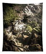 Tranquil Mountain Canyon Tapestry
