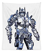 Transformers Optimus Prime Or Orion Pax Graphic  Tapestry