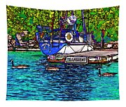 Transients Cartoon Tapestry