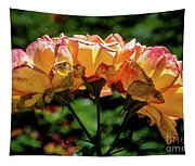 Translucent Roses Tapestry