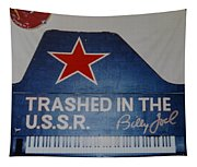 Trashed In The U S S R Tapestry