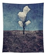 Tree Clouds 01d2 Tapestry