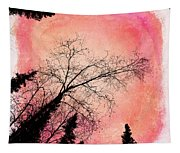 Tree Silhouettes I Tapestry