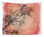 tree silhouettes II Tapestry